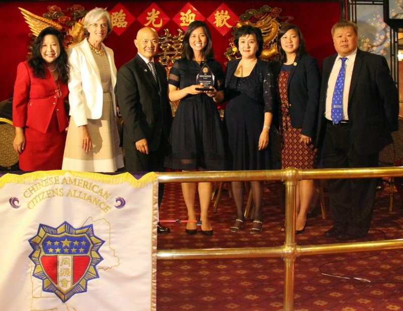 Boston City Council President Michelle Wu was honored at the CACA Boston Gala