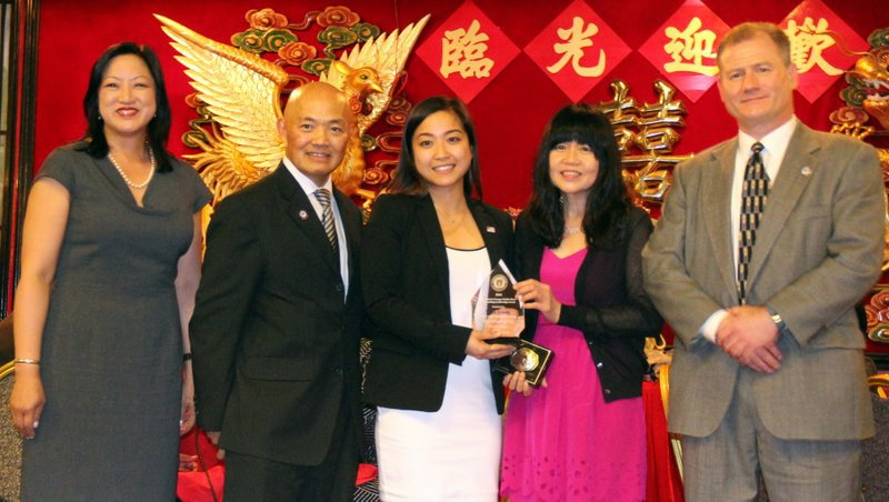 City of Quincy Councilor At-Large Nina Liang was honored